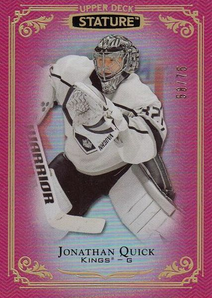 paralel karta JONATHAN QUICK 19-20 Stature Red /75