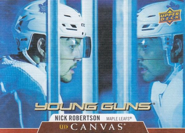 insert RC karta NICK ROBERTSON 20-21 UD Ser. 1 Young Guns Canvas číslo C118