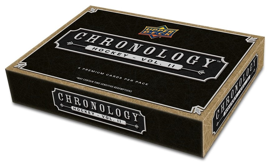 2019-20 UD Chronology Volume 2 Hockey Hobby Box