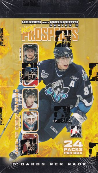 2005-06 ITG Heroes and Prospects Series 2 Hockey Hobby Box