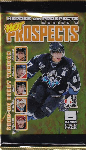 2005-06 ITG Heroes and Prospects Series 2 Hockey Hobby Balíček