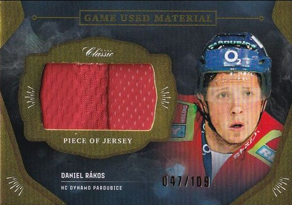 jersey karta DANIEL RÁKOS 20-21 OFS Classic Ser. 1 Game Used Material /109