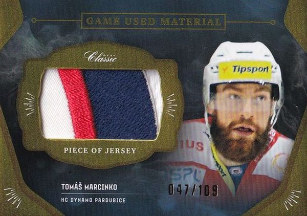 patch karta TOMÁŠ MARCINKO 20-21 OFS Classic Ser. 1 Game Used Material /109