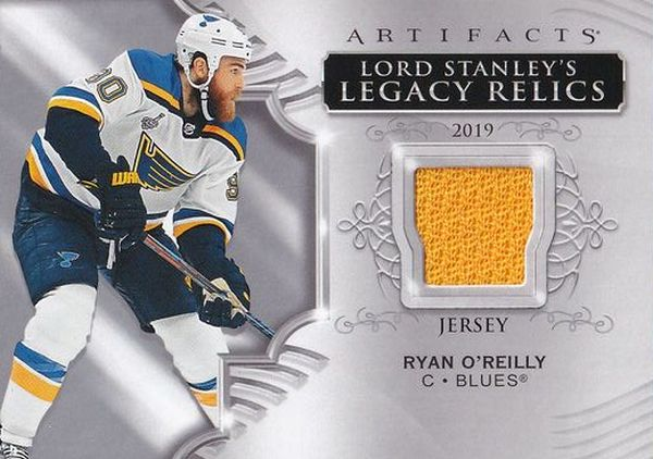 jersey karta RYAN O´REILLY 20-21 Artifacts Lord Stanley´s Legacy Relics