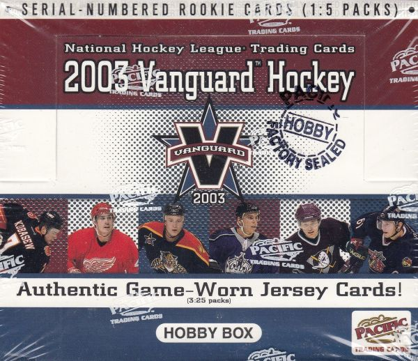 2002-03 Pacific Vanguard HOBBY Box