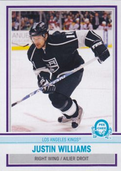 paralel karta JUSTIN WILLIAMS 09-10 OPC Retro číslo 137