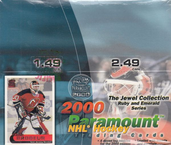 1999-00 Pacific Paramount Hockey Retail Box