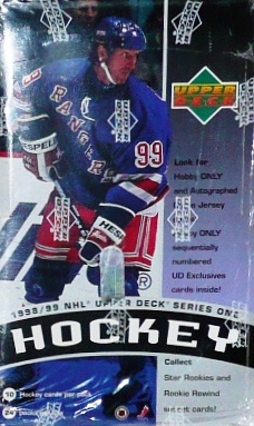 1998-99 UD Series 1 Hockey Retail Box