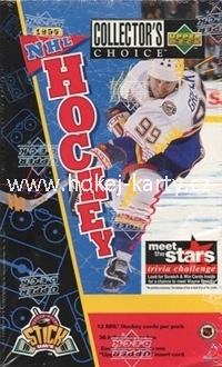 1996-97 UD Collector´s Choice Hockey Hobby box