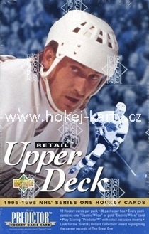 1995-96 UD Series 1 Hockey Retail Box
