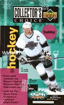 1995-96 UD Collector´s Choice Hockey Hobby box