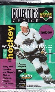 1995-96 UD Collector´s Choice Hockey Hobby Balíček