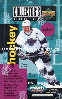 1995-96 UD Collector´s Choice Hockey Retail box
