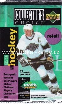 1995-96 UD Collector´s Choice Hockey Retail Balíček