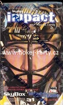 1995-96 SkyBox Impact Hockey Hobby Box