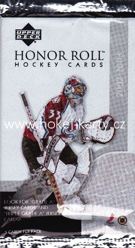 2002-03 UD Honor Roll Hockey Hobby Balíček