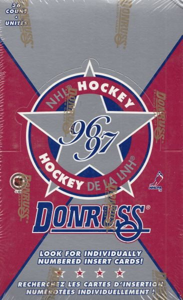 1996-97 Donruss Hockey Hobby Box