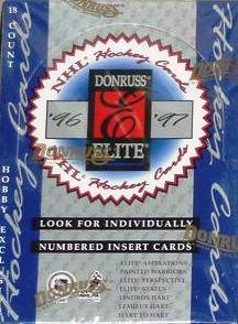 1996-97 Donruss Elite Hockey Box