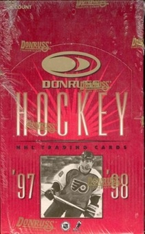 1997-98 Donruss Hockey box