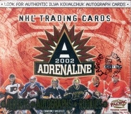 2001-02 Pacific Adrenaline Hockey HOBBY Box