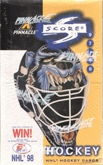 1997-98 Score Hockey Hobby Box