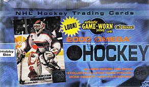 1999-00 Pacific Omega Hockey Hobby Box