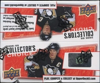 2008-09 UD Collector´s Choice Hockey box