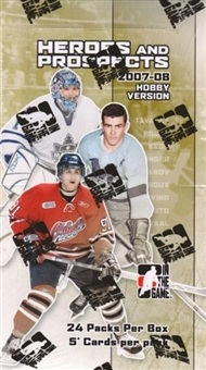 2007-08 ITG Heroes and Prospects HOBBY Balíček