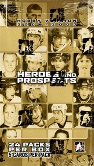 2006-07 ITG Heroes and Prospects HOBBY Box