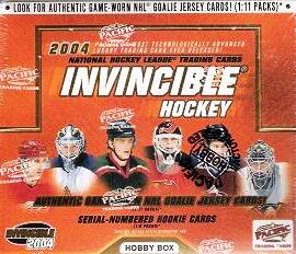 2003-04 Pacific Invincible Hockey HOBBY Balíček