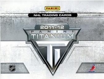 2011-12 PANINI Titanium Hockey Hobby Box