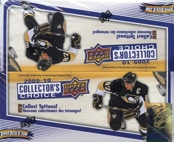 2009-10 UD Collector´s Choice Hockey Hobby Balíček