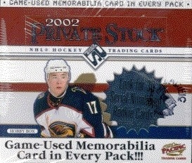 2001-02 Pacific Private Stock HOBBY Box