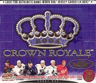 2003-04 Pacific Crown Royale HOBBY Box