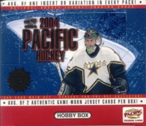 2003-04 Pacific Hockey HOBBY Box