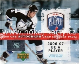 2006-07 UD Be a Player (BAP) Hockey Hobby Box