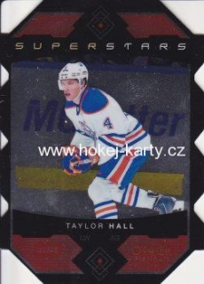 insert karta TAYLOR HALL 15-16 OPC Platinum Superstars Die Cuts číslo SS-10