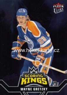 insert karta WAYNE GRETZKY 16-17 Fleer Showcase Fleer Ultra Scoring Kings