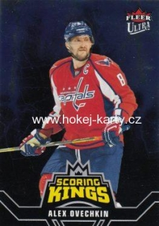 insert karta ALEX OVECHKIN 16-17 Fleer Showcase Fleer Ultra Scoring Kings