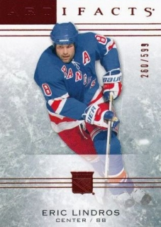 paralel karta ERIC LINDROS 14-15 Artifacts Ruby /599