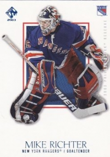 paralel karta MIKE RICHTER 02-03 Private Stock Reserve Blue /499