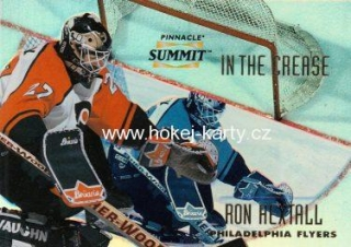 insert karta RON HEXTALL 96-97 Pinnacle Summit In the Crease Premium Stock /600