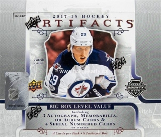 2017-18 UD Artifacts Hockey Hobby Box