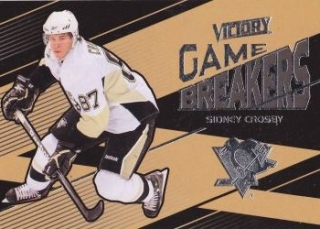 insert karta SIDNEY CROSBY 10-11 Victory Game Breakers číslo GB-SC