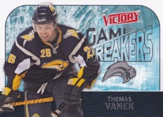insert karta THOMAS VANEK 09-10 Victory Game Breakers číslo GB10