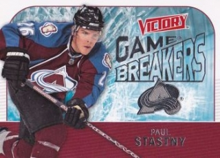 insert karta PAUL STASTNY 09-10 Victory Game Breakers číslo GB9