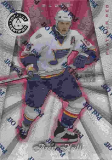 paralel karta BRETT HULL 97-98 Totally Certified Platinum Red /6199
