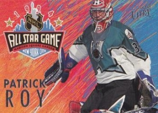 insert karta PATRICK ROY 94-95 Fleer Ultra All Star Game číslo 6 of 12