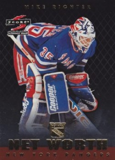 insert karta MIKE RICHTER 97-98 Score Net Worth číslo 6 of 18