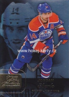 insert karta JORDAN EBERLE 15-16 Fleer Showcase Flair Showcase číslo 20